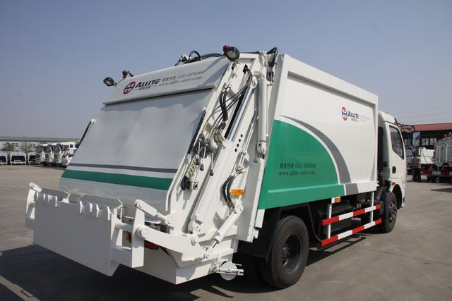 How to repair and maintain the compression garbage truck
